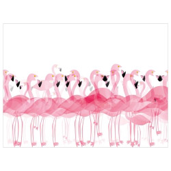 contento Tischset Vinyl Flamingos